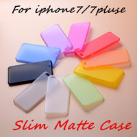 Wholesale slim iphone5 - Cell Phone Cases 0.3mm Ultra Slim Clear Cases TPU PP Case Cover Skin for iPhone5 6 7 plus S6 Cheaper Price DHL
