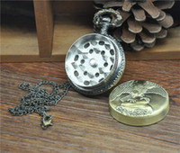 Wholesale Gadget Watches - New Elegant Desigh Herb Grinder Magnetic Metal Grinder Crusher The Pocket Watch Type 3 Layer Spice Tobacco Gadget