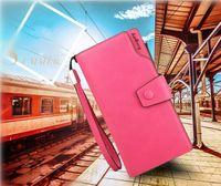 Wholesale Cellphone Purses - Baellerry Women Wallets PU Leather Long Ladies Luxury Purse Women's Designer Wallet Brand Multi-functional Clutch Wallet Cellphone Bag
