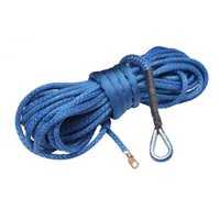 Wholesale 9mm Winch - Wholesale-2015 hot seller 9mm 30meters synthetic winch rope free shipping