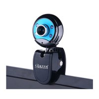 Wholesale night vision china - BLUELOVER W9 HD laptop video webcam with microphone mic night vision free drive Genuine Free shipping