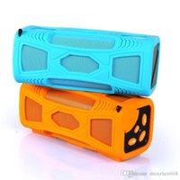 mini caixa som usb toptan satış-Taşınabilir mini kablosuz Bluetooth hoparlör USB amplifikatör stereo radyo hoparlörler FM radyo desteği SD kart CAixa de som ile 8 H-YX