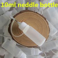 Wholesale Neddle Bottle - New Empty Neddle Bottle PET e Cigarette Neddle Bottle Healthy Drooper Bottles ecig empty Bottle for eGo CE4 MT3 Clearomizer Series Battery