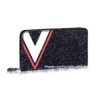 Wholesale Vintage Clutch Bag Price - Lowest Price ! Leather Famous Brand Business Men Long Zipper Wallet Purse Man High Capacity multi-card Clutch Bag Black Wallets With box