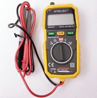 Wholesale Ac Current Detector - 10PCS BY DHL FEDEX Non-contact multitester DC AC voltage current monitor high precision multimeter Auto LCD and spotlight detector meter