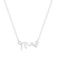 Wholesale hippie pendants - 10pcs lot Jewelry Hippie Letter Mrs Necklace Boho Chic Long Thin Chain Girlfriend Gift Pendant Necklaces for Women Collier Femme