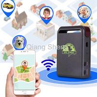 Wholesale Gps Person Pet Tracker - 5PCS LOT Professional Mini car GPS tracker Mini GPS GSM GPRS Car Vehicle Tracker TK102B Realtime tracking person,car,pet,kids