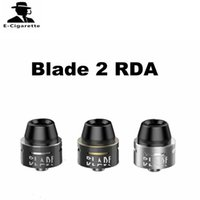 Wholesale Blade Mods - Original Vpark Blade 2 RDA 22mm Diameter Rebuidable Top Filling Atomizer For 510 thread Box Mod