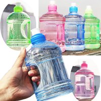 Wholesale Baseball Cap Bowls - 0.5L BPA Free Sport Gym Training Party Drink Water Bottle Cap Kettle +Handle