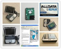 Wholesale Disk 19 - auto diagnostic software alldata 10.53 mitchell on demand installed in laptop cf19 cf 19 toughbook hard disk 1tb windows7
