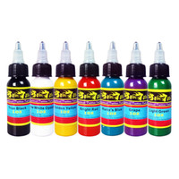 Wholesale SolongTattoo new brand Professional Solong Tattoo Ink Colors Set oz ml Bottle Tattoo Pigment Kit ink cups