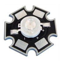 Wholesale Royal Lamps - Wholesale-10PCS 3W high power Royal Blue 445nm~460nm LED bead plant grow Light Lamp With 20mm star base