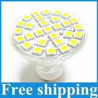 Wholesale E27 Led 29 - Lampada LED Lamp GU10 6W AC 220V 110V 5050 SMD Ampoule LED Spotlight Bombillas 29 LEDS Glass Body Spot light for home bulbs