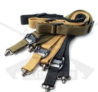 "Wholesale Mission Sling - Tactical 1 or 2 Point Multi Mission Sling Quick Detach QD Swivel End 1.25"" Strap with retail packaging BK"
