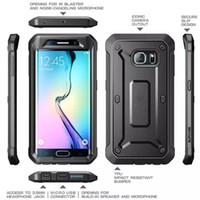 Wholesale I Phone Case Hybrid - S7 S7 edge Belt Clip Holster Case Unicorn Beetle PRO Series Heavy Duty 2 in1Supcase hybrid cases for I phone 6 6s 6plus
