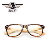 Wholesale wooden bamboo glasses for sale - Group buy 2017 Men Radiation protection Sunglasses Bamboo Wood Sunglasses Frame Women Fashion Multicolor Glass Sun glasses Classic brand High Quality