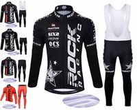 Wholesale Rock Winter Cycling Jersey - rock winter LONG sets cycling jersey thermal fleece custom Clothing Cycling equipment Outdoor cycling clothing customize JERSEY