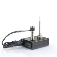 elektronische e nagel großhandel-Großhandel Enail D Nagel Snail elektronische Temperaturregler Box Für DIY Raucher E Nagelspule mit Ti Nagel für Glasbong