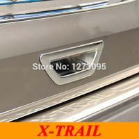 Wholesale Tailgate Handles - For 2014 2015 Nissan X-Trail X Trail ABS Chrome Rear Door Bowl Trunk Door Handle Bowl Tailgate Grab Trim Car Styling Accessories