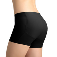 Wholesale Nice Purple Underwear - Wholesale-Sexy Padded Panties Seamless Nice Bottom Panties Buttocks Push Up Lingerie Underwear Women Butt lift Briefs Culotte Femme RP098
