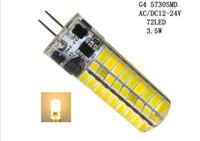Wholesale Bi Pin 24v - G4 AC DC 12V 24V LED White   Warm White Bulbs 2835 smd led Corn Light Bi-Pin Lamp 10pcs++