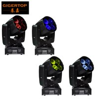 TIPTOP Stage Lighting 4XLOT Stage Lighting 4x10W LED Beam Moving Head Light Super Beam для дискотеки Light Mini Размер Цена