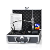 Wholesale silver e pipe resale online - Cheap E Quartz Nail Electric Dab Nail Complete Kit withTemperature Controller w for Rig Oil Glass Bongs water pipe