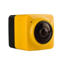 Wholesale Cube H - 360 Degree Panoramic View Action Camera cube 360 VR Camera Build-in Sports Camera H.264 1280*1042 Video with GVT100M DSP Mini Camcorde