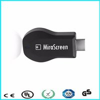Wholesale wifi ezcast - 10pcs lot MiraScreen OTA TV Stick Dongle Better Than EZCAST EasyCast Wi-Fi Display 2.4G Wifi TV Stick Wifi Display Dongle