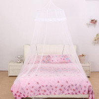 Wholesale Insect Door Curtain - 60*270*1050Cm Mosquito Net Bed Nets Celling Mosquitoes Curtain Round Lace Princess Mosquito Net Bed Canopy Netting Insect Protection