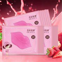 Wholesale lip membrane - Fashion Sexy PILATEN lip mask Pilaten Authorized Collagen Crystal Lip Mask Anti-wrink Anti-Ageing Membrane Moisture Hydrating Lip Gel DHL