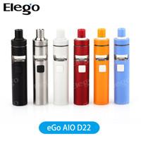 Wholesale Ego Update - Original Joyetech eGO D22 Starter Kit with 15000mAh Battery Capacity Update from Joyeetch eGo AIO Kit