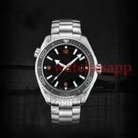 Wholesale New Mens Automatic Mechanical Self Wind mm LUXURY STAINLESS STEEL Classic James Bond Orange Bezel WATCHES