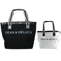 Wholesale Letter Shoulder Bag - Dean Deluca tote Horizontal letter hand case Canvas woman sling bag Leisure luggage Quality shoulder handbag