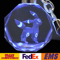 Wholesale Phone Accessories Children - 117 Style Fashion Poke Go Elf Ball Crystal Key Rings Children Adult Cartoon Cell Phone Charm Pendant Keychain Accessories Gifts WX-K11
