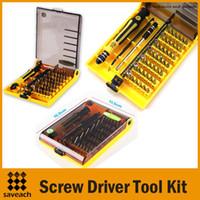ingrosso strumenti hardware di qualità-Strumento multiutensile di alta qualità 45-in-1 Kit di strumenti di riparazione del cacciavite hardware professionale per cacciaviti hardware