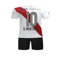 Wholesale Football Beds - Top thai quality River bed kits adult football shirts 17 18 SANCHEZ VALDIVIA MEDEL VIDAL ALEXIS jersey 2018 CA River Plate soccer jerseys