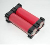 vibrationsbatterie großhandel-18,2 mm 18650 Batteriehalter Halterung ABS Material Anti Vibration Zylindrische Batteriespacer Halter 18650 Batterien Box Ständer Halter Rahmen