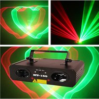 Wholesale Tunnels Usa - New Arrival Latest Design HT-150RG 150mw Stage Laser Lighting Equipment Shining Time Tunnel Waving Butterflies Free Shipping