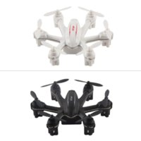 Wholesale Electric Led Lighting - UFO Electric RC helicopter 4 Channels 6Axis MJX X901 Quadcopter White And Black Mini Drone With LED Light