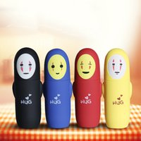 Wholesale Cartoon Face Hand - 260ML Creative Gift Face Shape Thermal Water Bottle For Kids Outdoor Water Bottles Cycling Camping Glass Travel Bottles