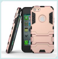 Wholesale Hybrid Iphone 5g - Case for iPhone 7 Plus 5 5G 5S 5C 6 6S Plus 2 in 1 Hybrid Combo Protective Cover