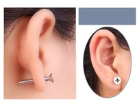 Mini Stud Earrings Screws Design Jewelry Vente en gros Pendentif plaqué or Boucles d'oreilles pour femmes et hommes New Design Earrings