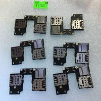 Wholesale Dual Sim Card Reader - SIM Card Reader Holder Flex Board For MOTO G3 3rd GEN DUAL XT1550 New Promotion