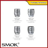 Wholesale Unit Baby - 100% Original Smok TFV8 Baby Coils Heads TFV8 BABY Beast Tank Replacement Core Unit V8 Baby-T8 V8 Baby-T6 V8 Baby-X4 V8 Baby-Q2