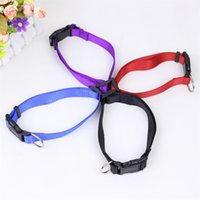 Wholesale black xl dog collar for sale - Group buy Hot Sale Adjustable Nylon Collar For Small Dog Puppy Cat Pet Necklace Collars Black Red Blue or Pink S M L XL