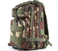 Wholesale Tactical Laptop - 12 color Camping Trekking bag Outdoor camouflage mountaineering bag 3p Tactical Backpack laptop Molle Rucksacks camouflage backpack