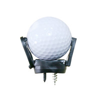 Wholesale Outdoor Sports Mini Folding Golf Pick up Grabber Back Saver Claw Put On Putter Grip Golf Ball Retriever Golf Training Aids