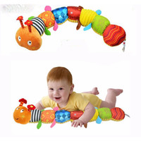 Wholesale Multifunctional Toys For Children - Recommend Cloth multifunctional educational children toys Baby rattles of music hand puppets animals for kids WJ167