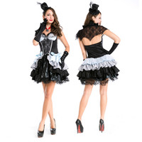 Wholesale Devil Queen Costume - Black women, the main Halloween new arrival convex lace, queen witch Halloween devil vampire Cosplay clothes